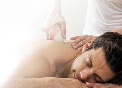 Tigerclam masaža školjkama